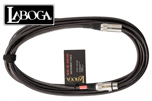 LABOGA Way of Sound -  6 m XLR - mikrofonowy