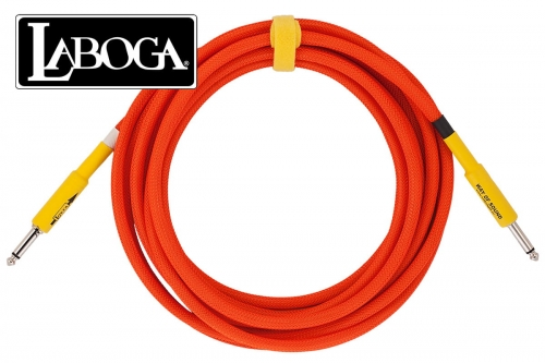 LABOGA NEON Orange- 3 m - Prosty / Prosty