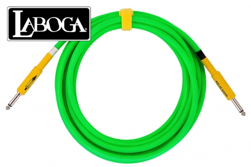 LABOGA NEON Green - 3 m -  Prosty / Prosty